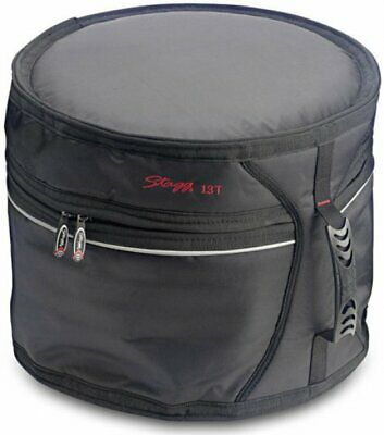 """Stagg 13"""" Professional Quality Tom Drum Soft Bag Case STTB-13"""