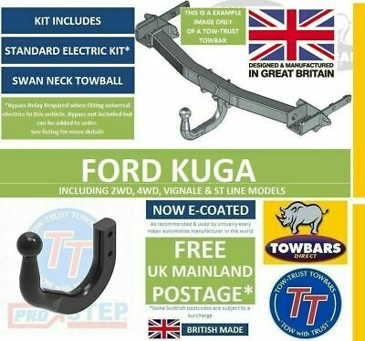 Swan Neck Towbar For Volkswagen Touran 13 Pin Electrics 03-15 43064/_H4
