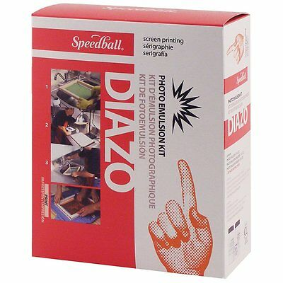 Speedball Diazo Photo Emulsion Kit, Free Shipping, New