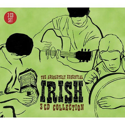 Irish Songs: Absolutely Essential Collection VARIOUS ARTISTS Best Of NEW 3 CD