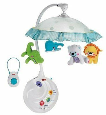 Fisher-Price Projection Mobile Precious Planet Crib Baby Animal Music Sleep
