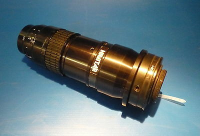NAVITAR 16000 Adjustable Aperture Coaxial Zoom Lens 1-6001 Adapter 25mm Thread