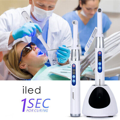 Dental Cordless iLed Curing Light 1 Second Cure Lamp 2300mW Woodpecker DTE Type