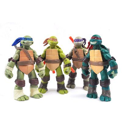 TMNT Teenage Mutant Ninja Turtles Lot 4 Action Figur Figuren
