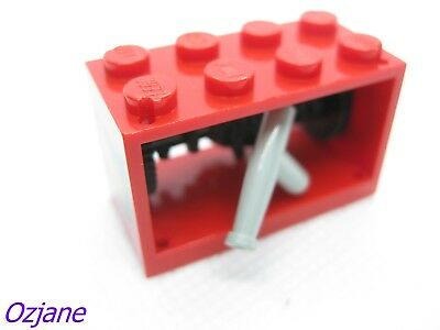 with Metal Handle Red Drum 349 355 383 LEGO Yelloe String Reel Winch 4 x 4 x 2