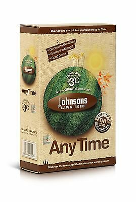 Johnsons Lawn Grass Seed Anytime Any Time 1.5Kg  / 60Sqm Coverage