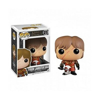 Figurine Pop! Tyrion Lannister Game Of Thrones (en armure) Licence Officielle