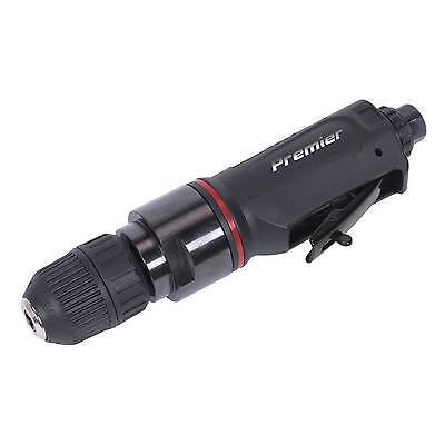 Sealey Professional Straight Air Drill with 10mm Keyless Chuck Premier - SA622