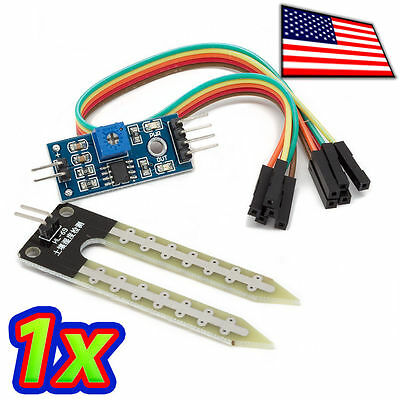 NEW Soil Moisture Sensor For Arduino and Soil Hygrometer Detection Module