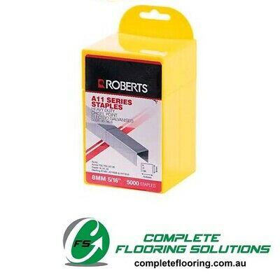 Roberts A11 Series Staples 8mm 5/16