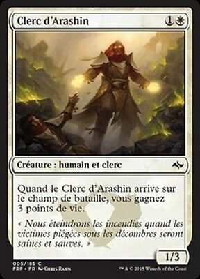 MTG Magic FRF - (4x) Arashin Cleric/Clerc d'Arashin, French/VF