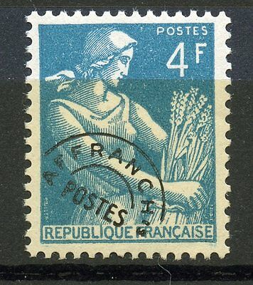 STAMP / TIMBRE FRANCE PREOBLITERE NEUF N° 106 ** moissonneuse