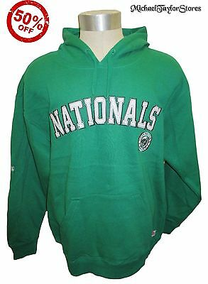 Washington Nationals Men S M L XL 2XL St. Patrick's Day Hoodie MLB Green