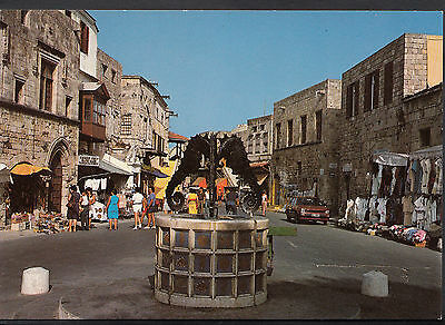 Greece Postcard - Rhodes - Old City  A8458