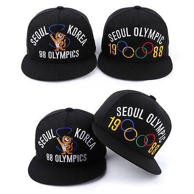 Unisex Mens Womens 1988 KOREA 88 SEOUL Olympic Hiphop Baseball Cap Snapback Hats