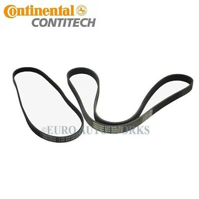 BMW Alternator A//C Power Steering Fan Drive Belt Serpentine 6pk1990 Continental