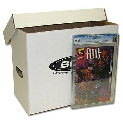 3 CGC Graded Current  Silver  Golden Comic Book Storage Boxes - NEW