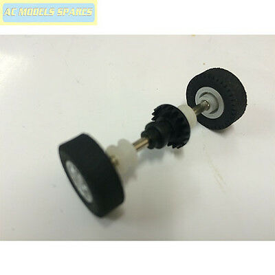 W9545 Scalextric Spare Rear Axle Assembly for Mini