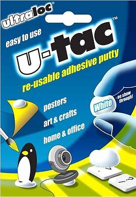 U-TAC re-usable adhesive putty Posters Art Craft Home Office Clean Tack Handy