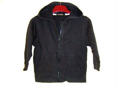 Lovely Navy Blue Zipped & Hooded Jacket from George at Asda - Age 3-4 Years