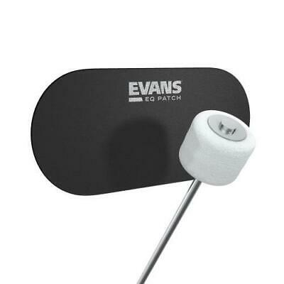Evans EQ Bass Drumhead Patches for Double Bass Drum Pedals EQPB2