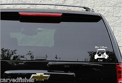 Golf decal,my other car in 11 colors