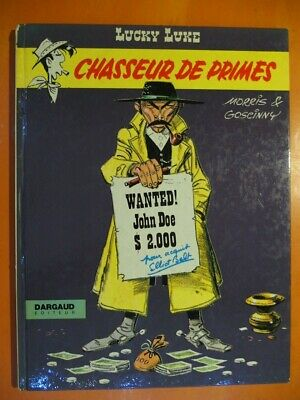 Lucky Luke Tome 8  Chasseur de primes-Morris & Goscinny-Dargaud