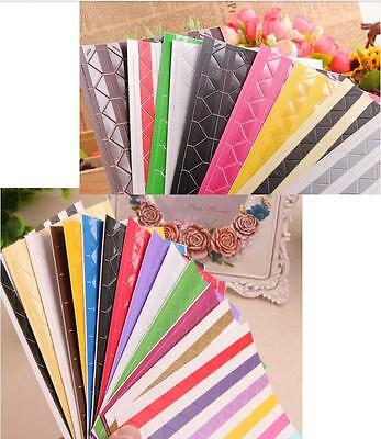 *AU Seller* 102pcs DIY Album Scrapbook Photo Corner Angle Sticker - 33 Options