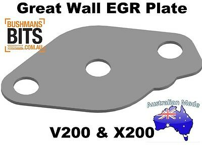 Great Wall V200 & X200 EGR Blanking Plate