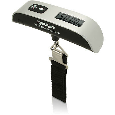 50KG LCD Digital Travel Portable Handheld Weighing Luggage Scales Suitcase Bag