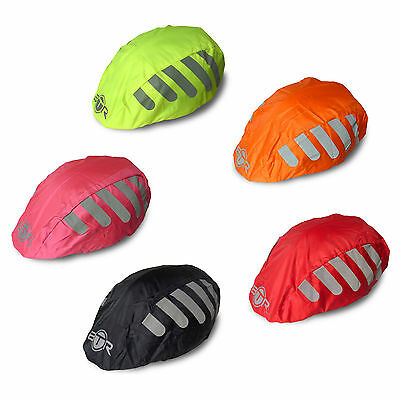 BTR High Visibility Waterproof Bicycle / Bike Helmet Covers - One Size Fits All