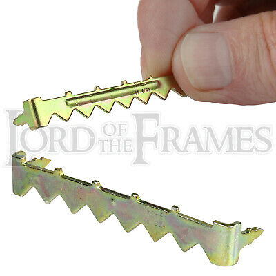 49mm No-Nail Easy Self-Fix Saw-Tooth Hanger Hook Picture Frame / Canvas Hanging