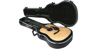 New Skb Deadnought & 12-String Universal Acoustic Guitar Hard Flight Case Tsa