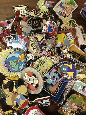Disney Trading Pin Lot 75, No Duplicates 100% Tradable Grab Bag # .1 POJ