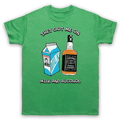 Dr Feelgood Milk And Alcohol Rock T-Shirt Unofficial Mens Ladies Kids Sizes Cols