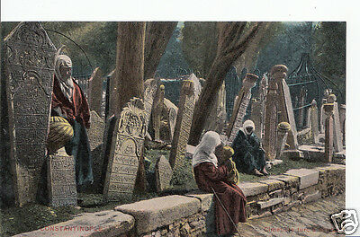 Turkey Postcard - Constantinople - Cimetiere A6640