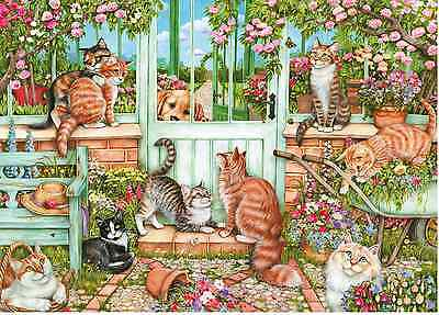 GIBSONS JIGSAW PUZZLE 1000 PIECES Catch us if you can by Debbie Cook G6171