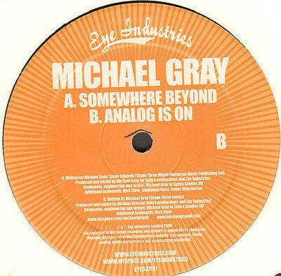 MICHAEL GRAY, FEAT. STEVE EDWARDS - Somewhere Beyond / Analog Is On