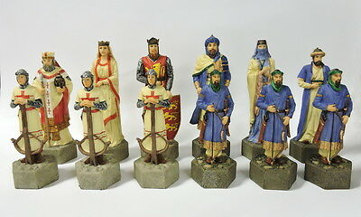 Crusaders- Historically Themed Chess Set