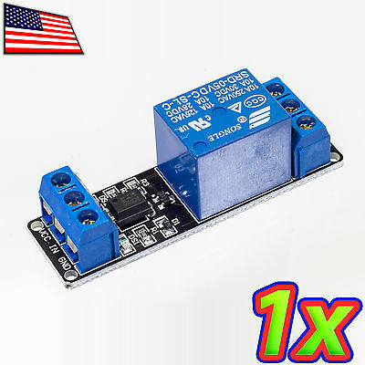 1 Channel 240VAC DC 10A Relay Screw Terminal Module Shield Arduino Raspberry Pi