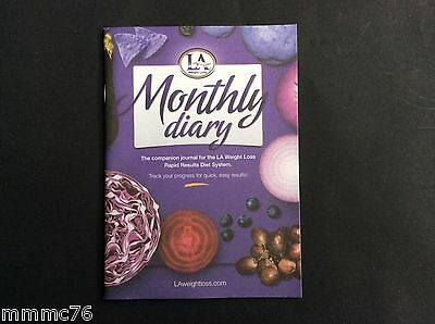 New LA Weight Loss Rapid Results Monthly Diary Journal