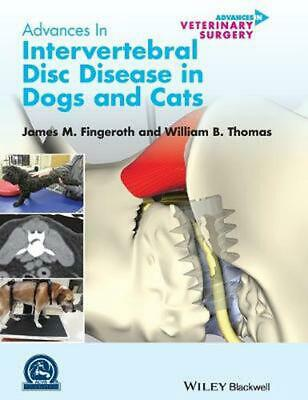 Advances in Intervertebral Disc Disease in Dogs and Cats by Fingeroth (English)