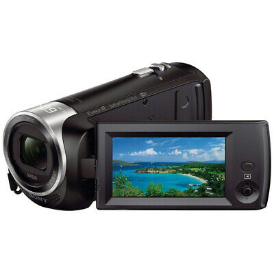 Sony Handycam HDR-CX440 8GB Wi-Fi 1080p HD Video Camera Camcorder NEW USA