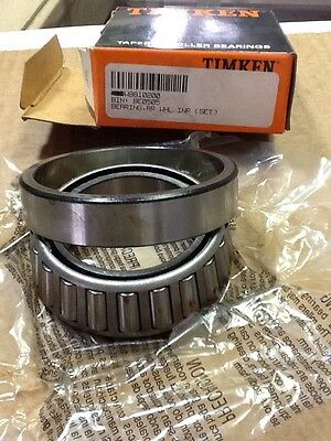 W8810200 Workhorse Tapered Roller Bearing Timken SET38 Bearing Set