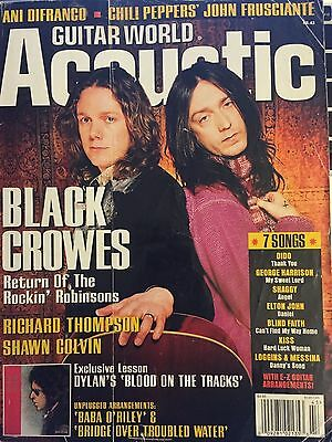 Guitar World Acoustic - No 43 - The Black Crowes - Bob Dylan