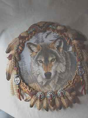 Wolf Plate Autumn Majesty