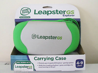 LeapFrog LEAPSTER GS Explorer Storage Carrying CASE ~ NEW LeapsterGS