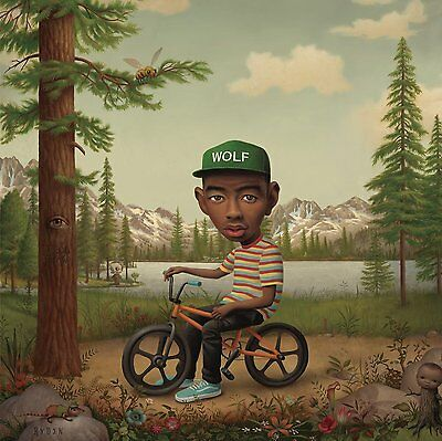 Tyler The Creator WOLF Limited Deluxe RYDEN New PINK COLORED VINYL 2 LP + CD