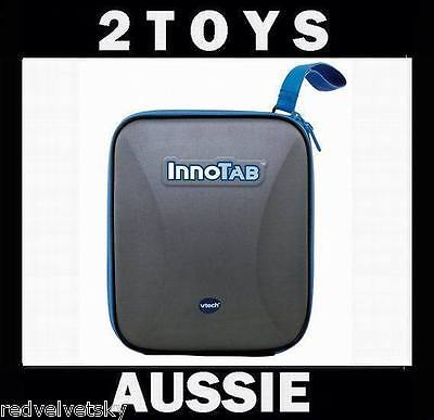 Vtech INNOTAB 2 Console HARD COVER PROTECTIVE STORAGE CASE ~ BLUE ~ NEW Innotab2