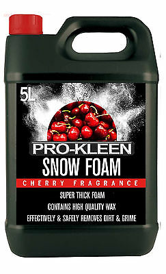 Cherry Car Snow Foam With Wax Car Wash Shampoo Cleaning For Any Lance Shine